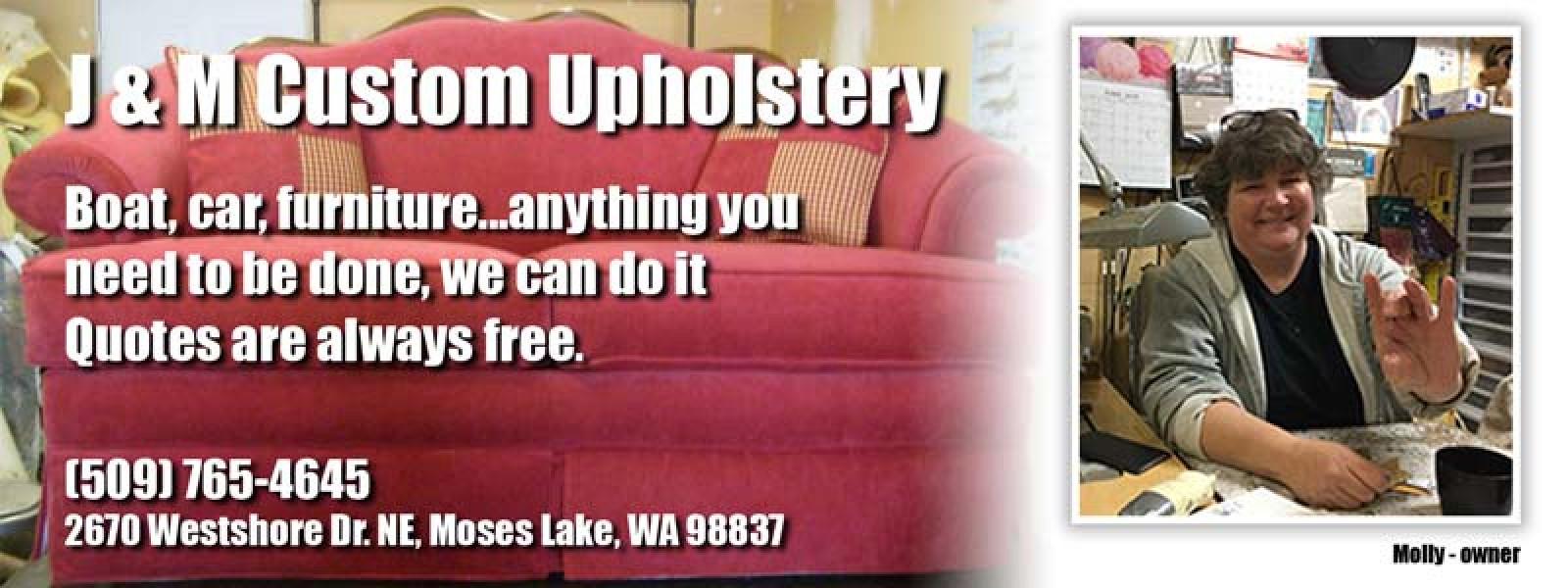 J & M Custom Upholstery