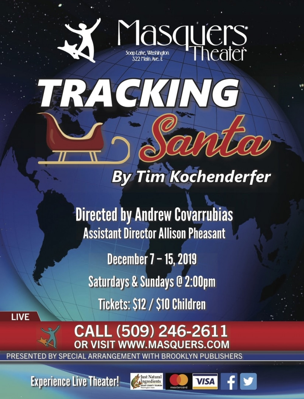 Masquers Theatre presents Tracking Santa