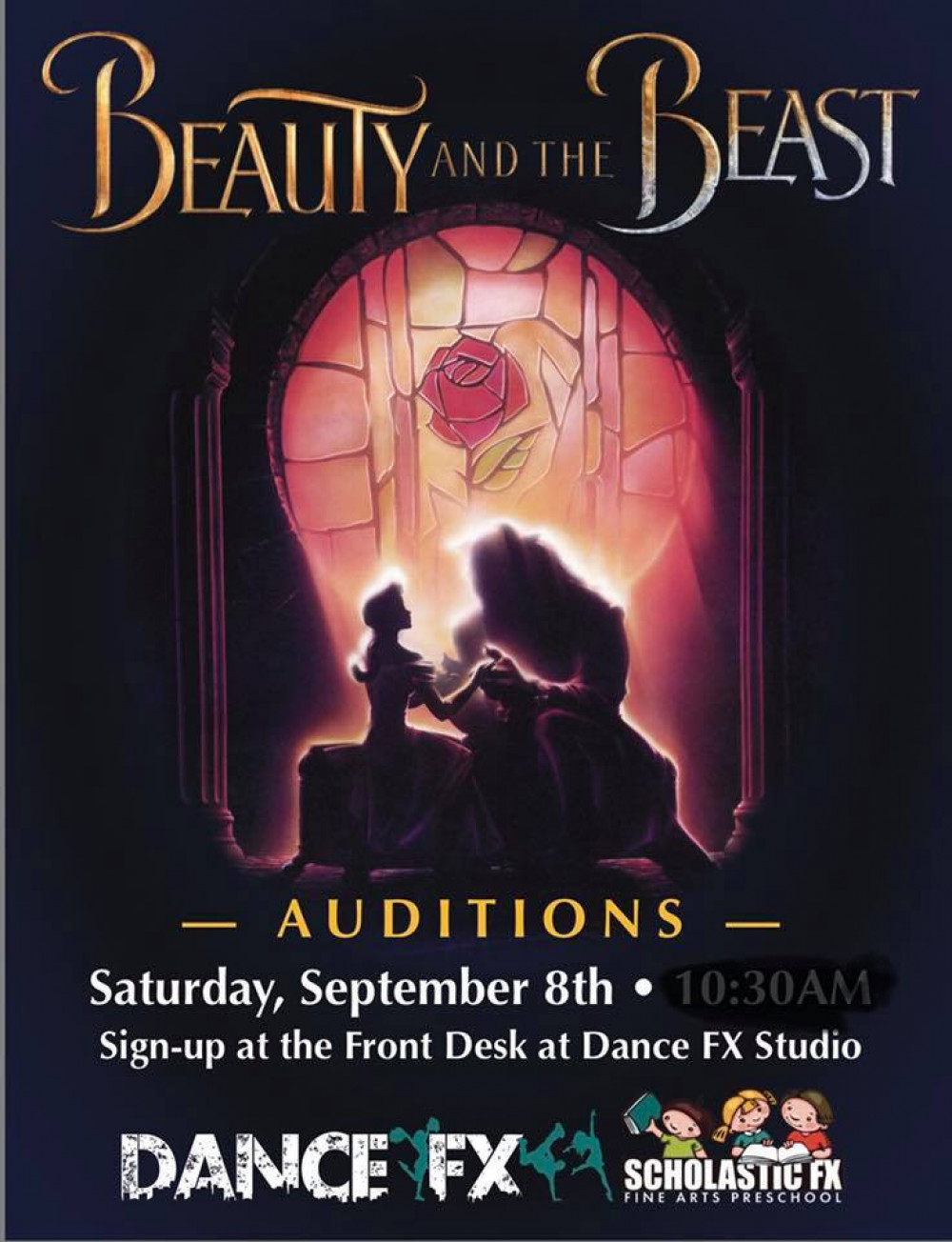 AUDITIONS for Beauty and the Beast
