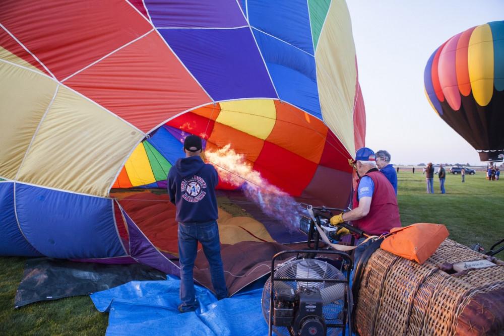 Sunrise Balloon Launches