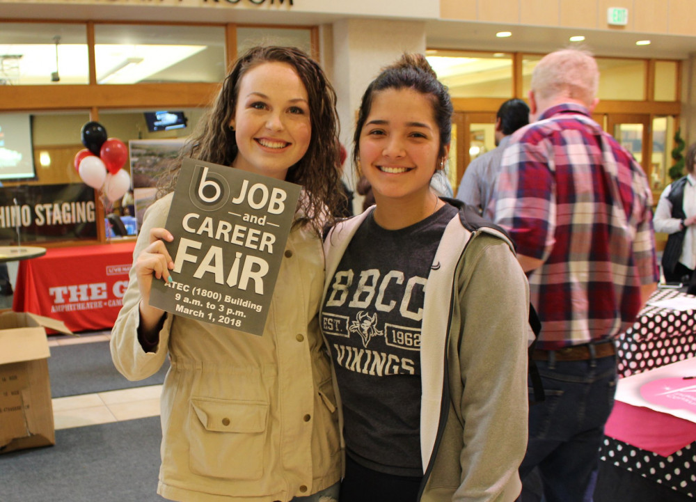 Big Bend Community College students attend last year's Job and Career Fair. More than 80 employers and exhibitors are expected to attend this year's event.