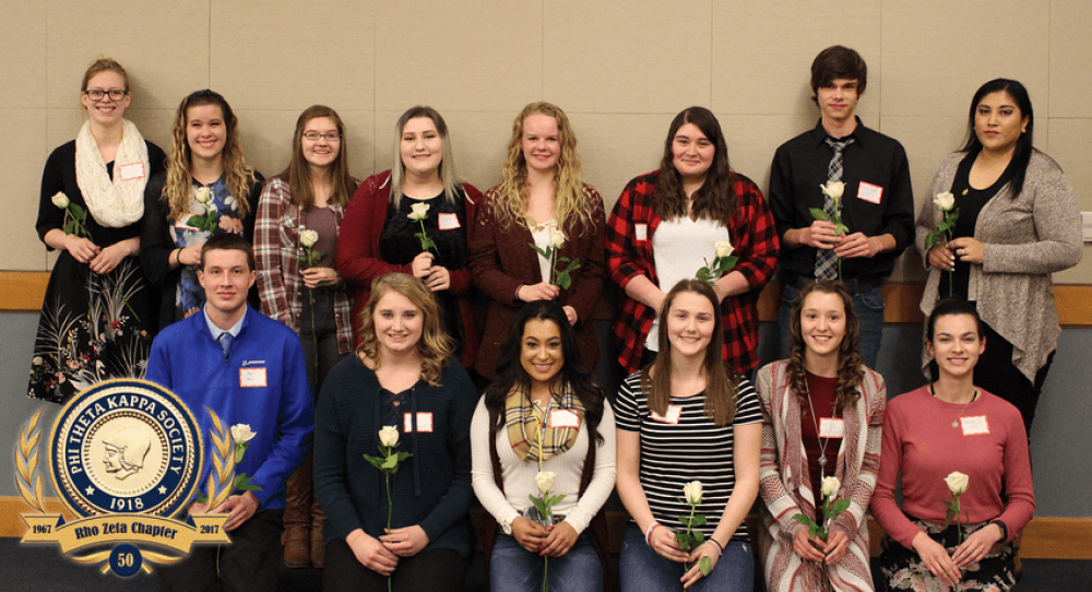 Big Bend Phi Theta Kappa Inducts 19 New Members