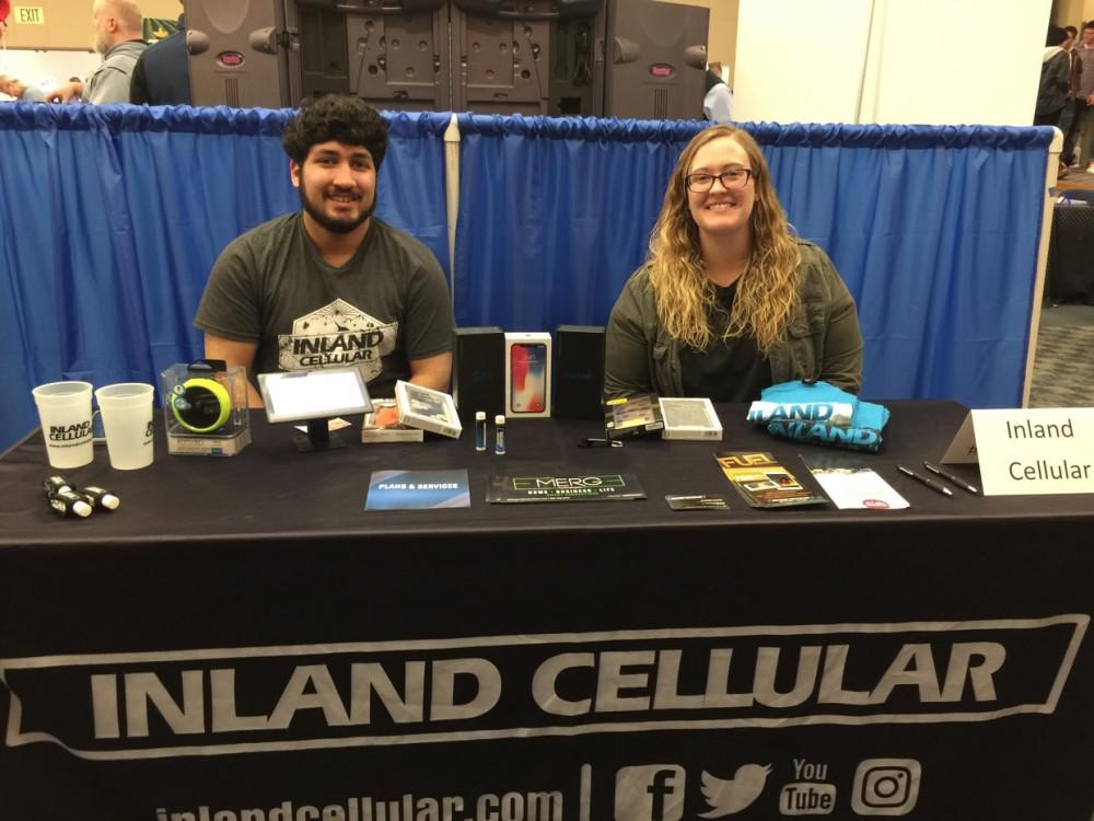 Rene' Santana and Caitlin Ballard