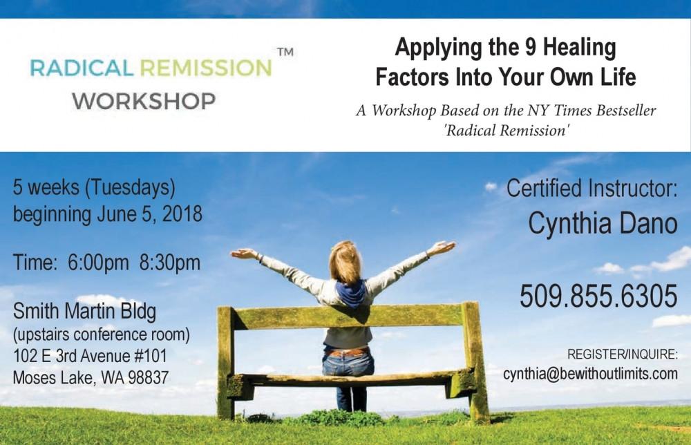 Radical Remission Workshop information