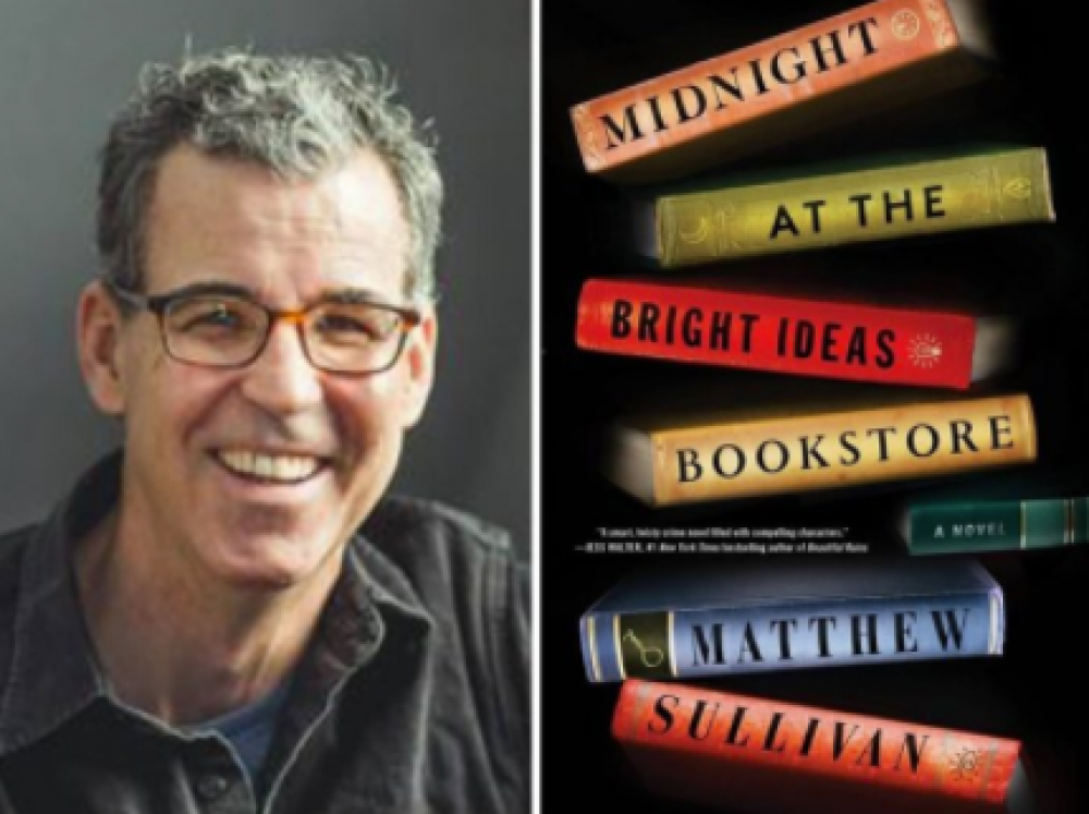 Big Bend Instructor, Author Matthew Sullivan selected to share his passion for writing