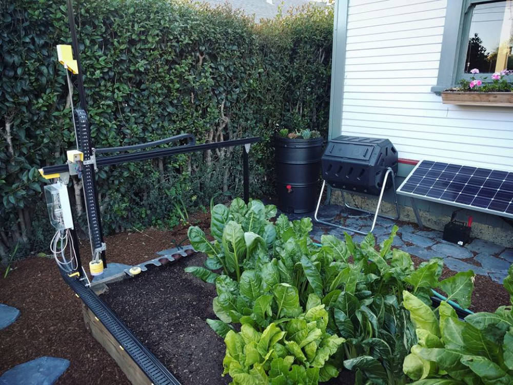 BBCC will soon have a FarmBot unit, like the one pictured, on campus thanks to a partnership with the Center of Excellence for Agriculture.