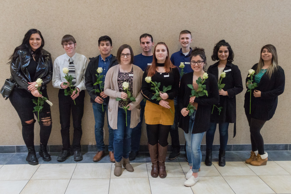 Phi Theta Kappa inducts ten new members