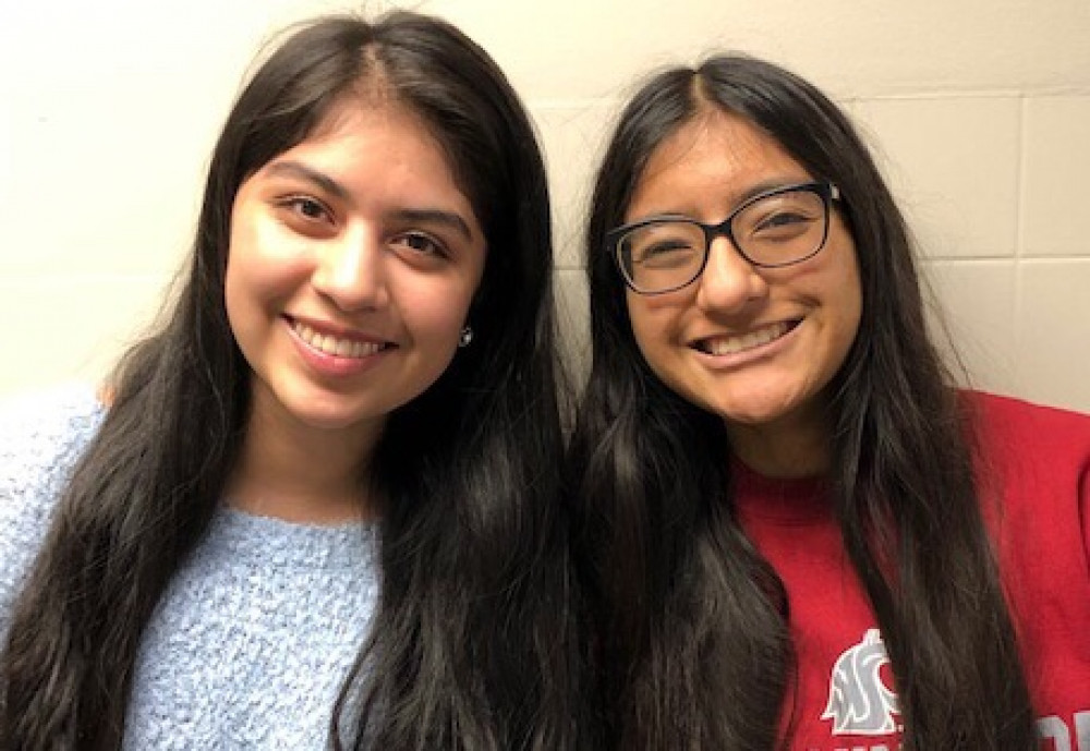 Local students Elizabeth Guadarrama and Fatima Cortez awarded $20,000 scholarships
