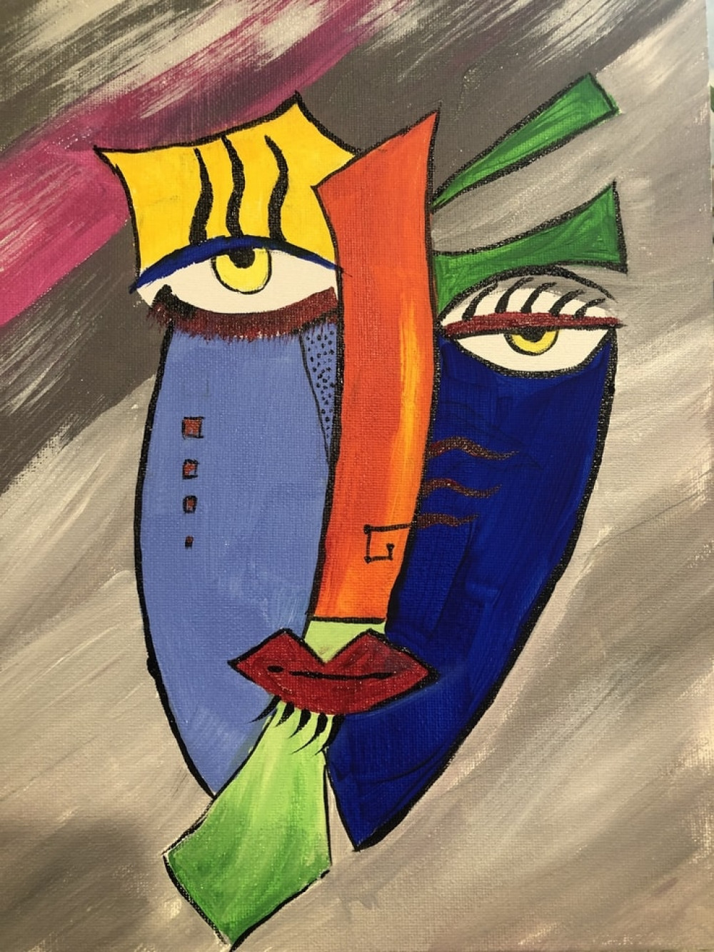 Create your own MASTERPIECE collage inspired by Picasso!